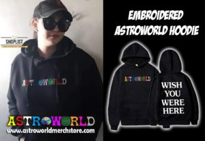 Embroidered AstroWorld Hoodie (High Quality)